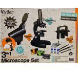 Vivitar 3-in-1 Microscope Set